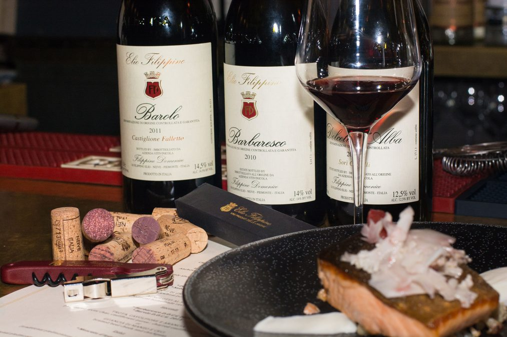 Wine dinner - San Carlo Osteria Piemonte, NYC - February 24th 2018